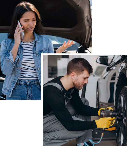 Earn Money by Assisting or Get Quick Roadside Assistance