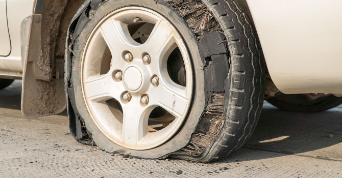 Why Tire Blowouts Happen and How to Avoid Them